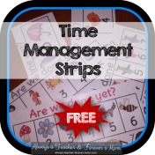 Are we done yet? - FREE time management interactive strips