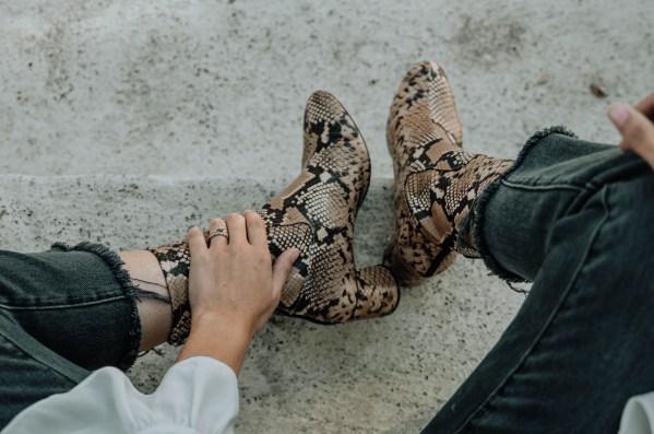 Always & Again Series: Snake Boot