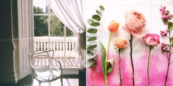 ICA London wedding venue and flower still life