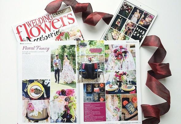 Wedding Flowers Magazine Press feature Always Andri Wedding Design