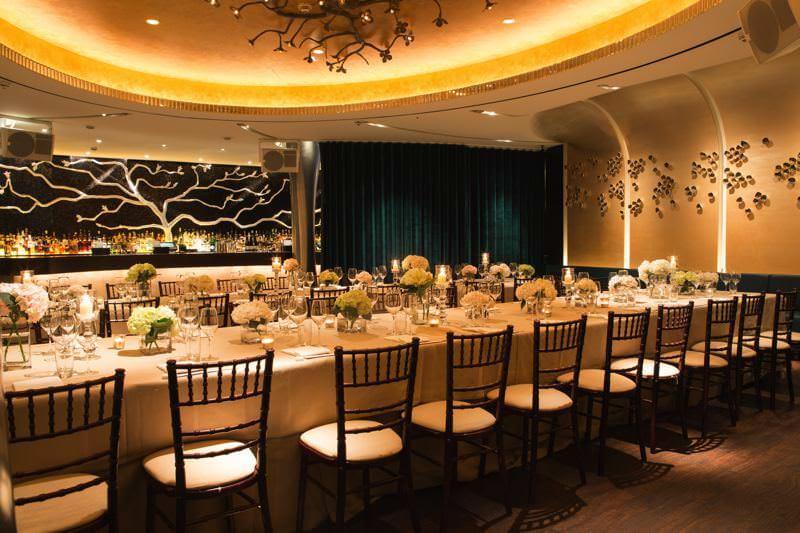Nobu restaurant London wedding venue for foodie lovers
