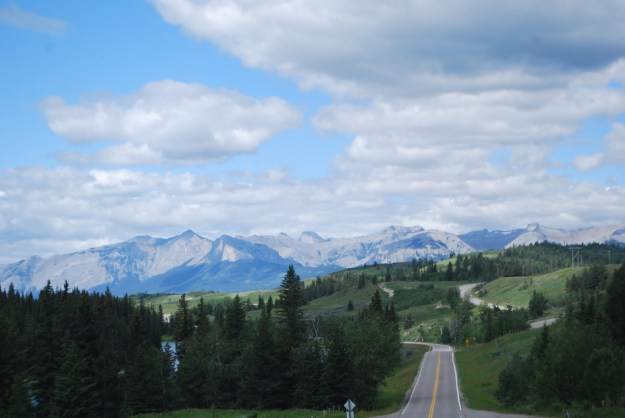 The Rockies are down the highway