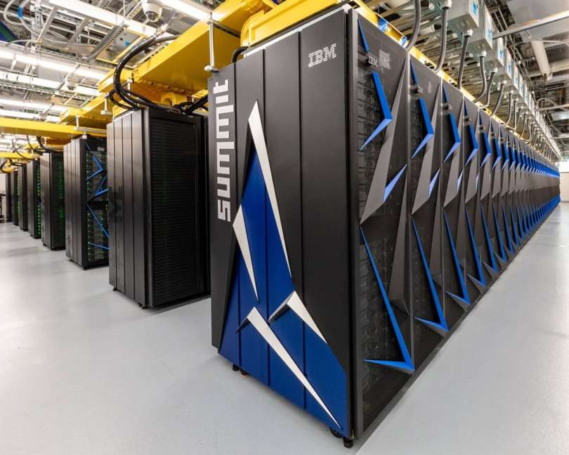 Summit is the world's fastest super computer.