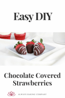 Chocolate Covered Strawberries Pin