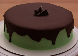Mint Cake that tastes like Andes mints