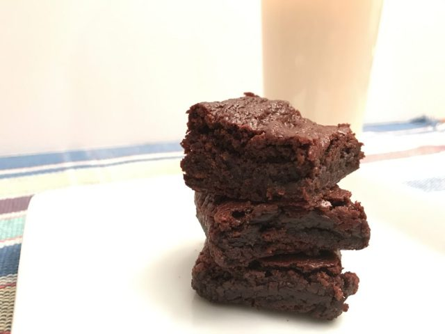 Perfect Gluten-Free Brownies with Milk