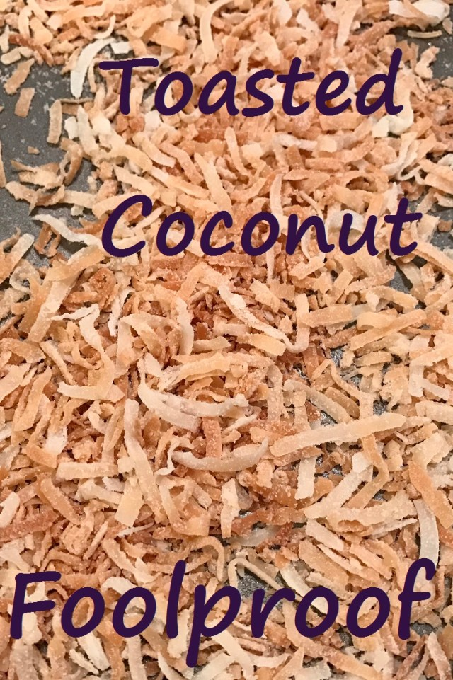 How to make toasted coconut - the foolproof method!