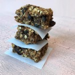 Pumpkin Spice Oatmeal Bars
