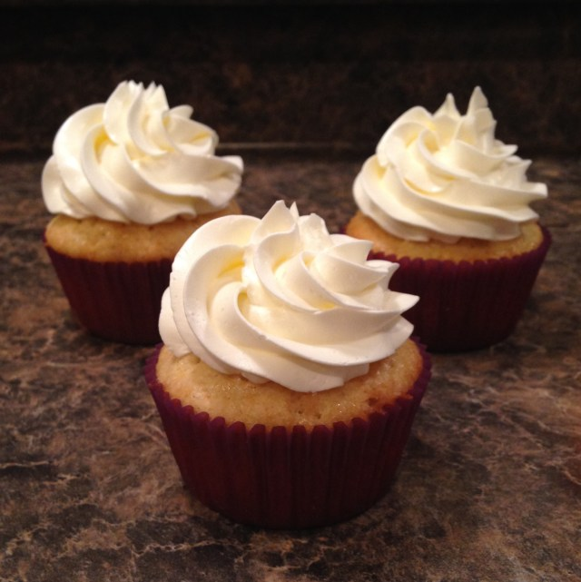 Sugar Free Vanilla buttercream