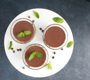 Mint Chocolate Pudding