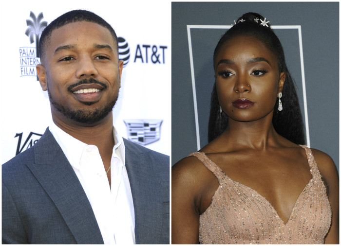 Michael B. Jordan and Kiki Layne