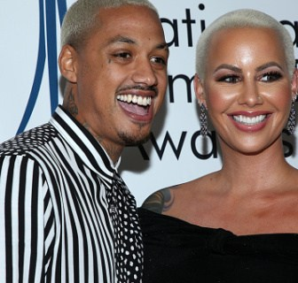 Baby Muvaaaaa: Amber Rose Expecting A Baby Boy With Her Boo AE