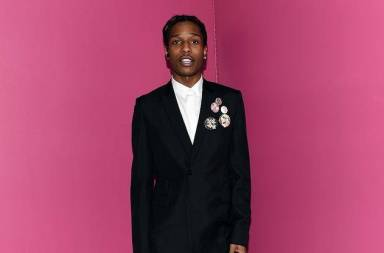 "A$AP Rocky Premieres New Song ""Sandman"""
