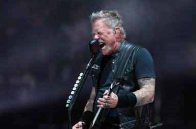 "Metallica & Vans Team Up For Fiery ""Black Album"" Collab: Photos"