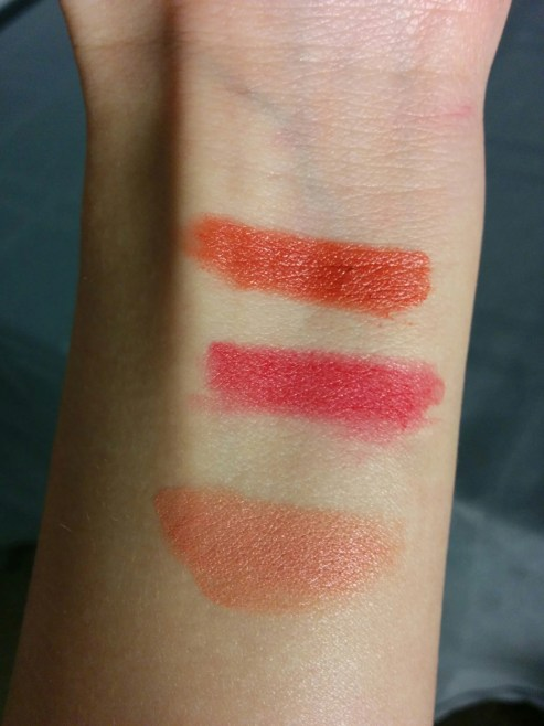 ELF Matte Lip Colour & Moisturizing Lipstick Swatches