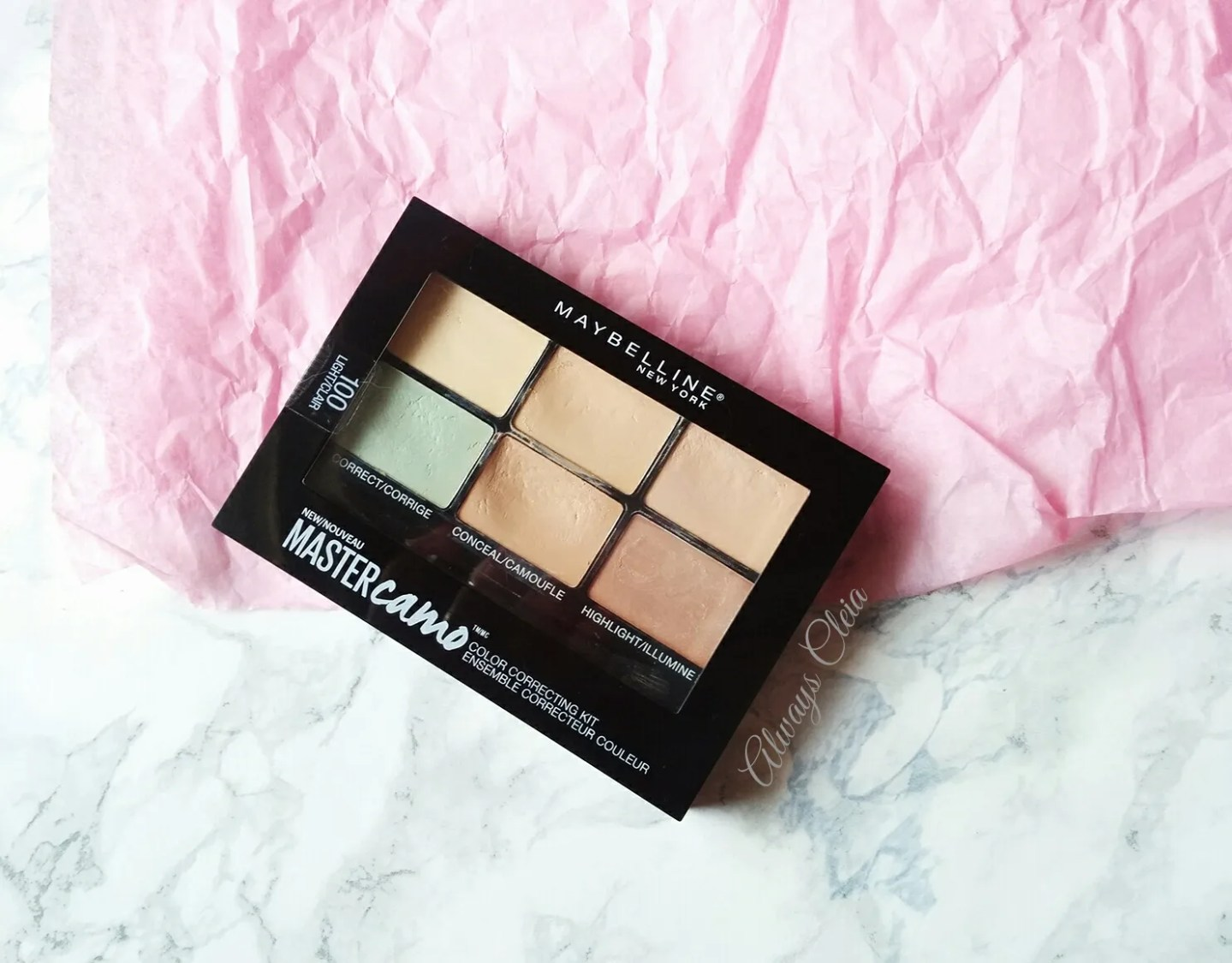 Maybelline Master Camo Color Correcting Kit Review