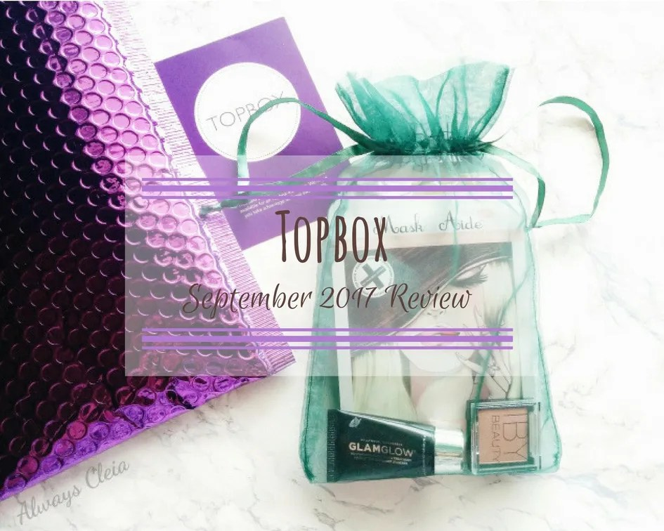 2017 September Topbox Review