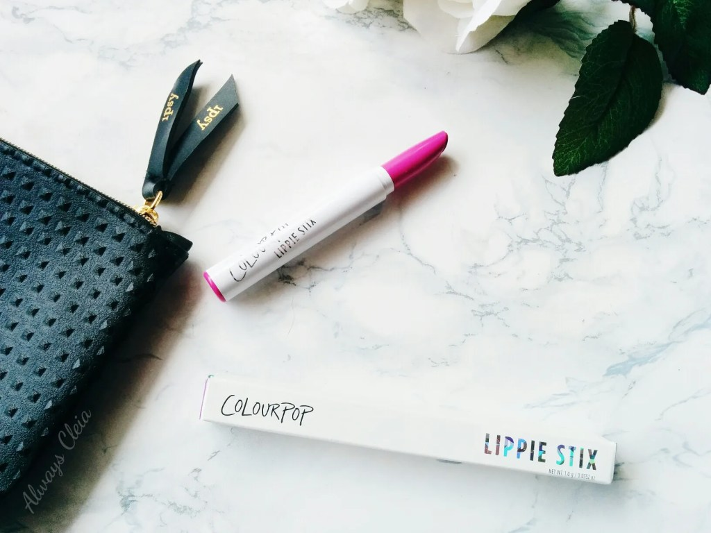 Ipsy September 2017 ColourPop Lippie Stix