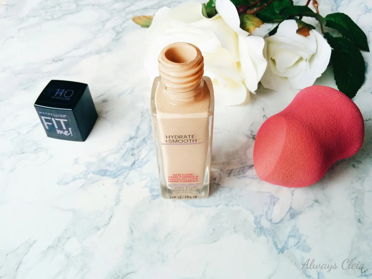 Maybelline Fit Me Hydrate + Smooth Foundation Review