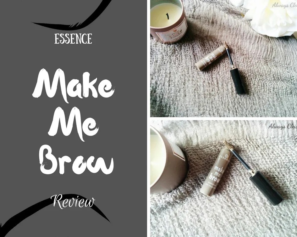 Essence Make Me Brow Eyebrow Gel Mascara Review