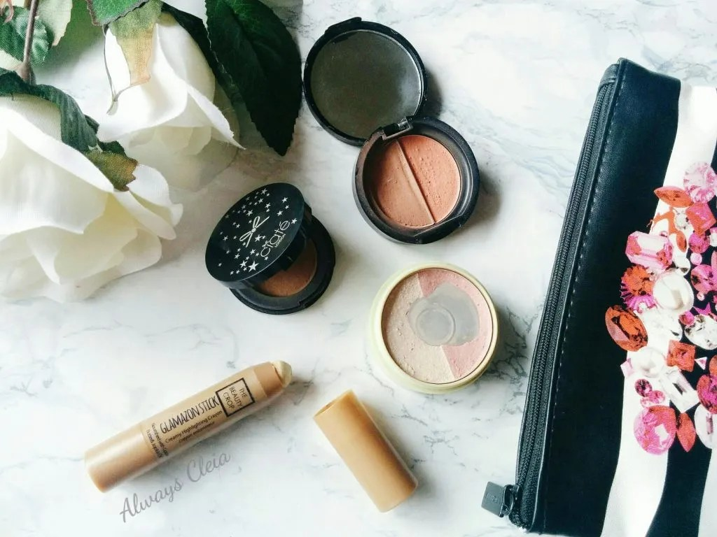 Travel Makeup: Bronzer, Blush, Highlight