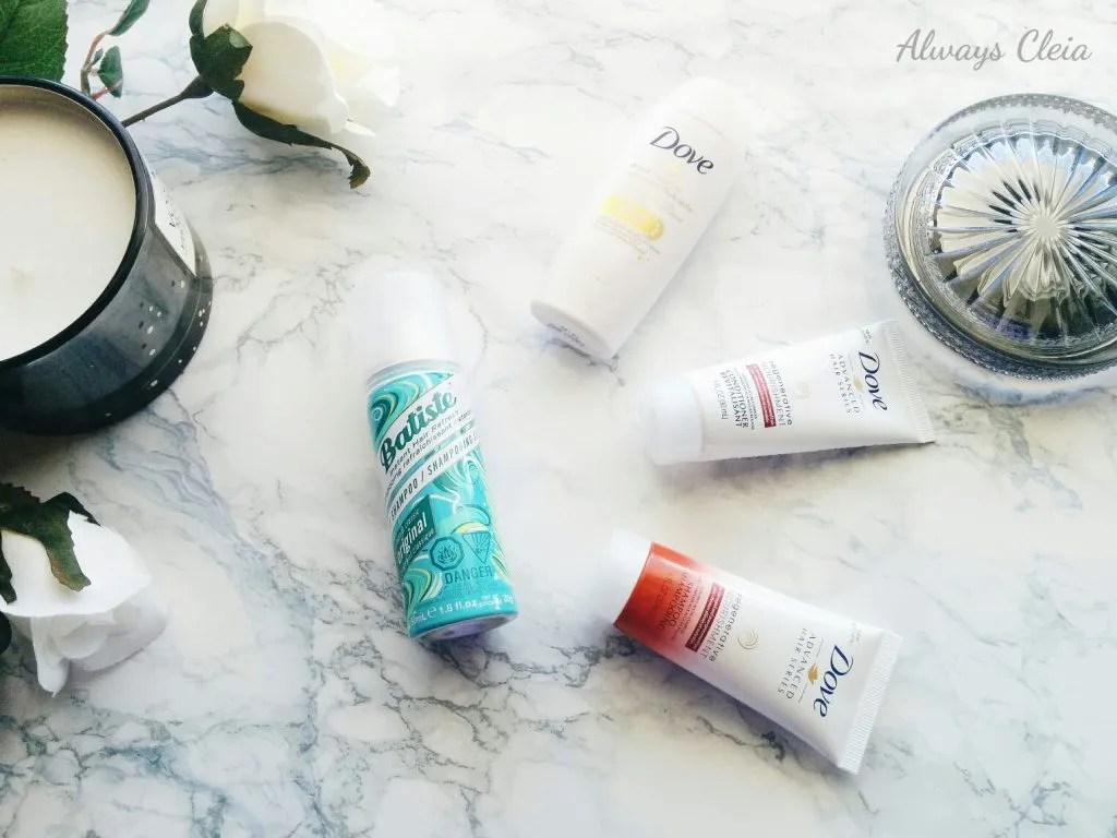 What's in My Bag: Travel haircare routine