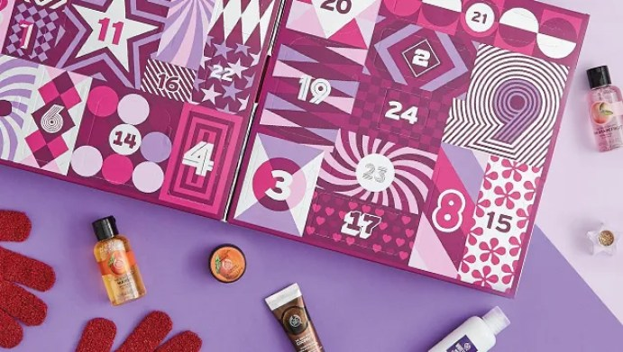 Beauty Advent Calendars: The Body Shop