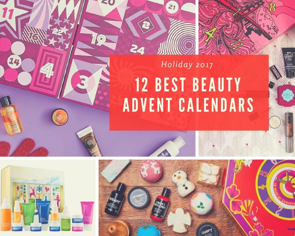 Best 2017 Beauty Advent Calendars