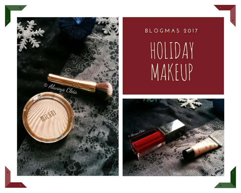 BLOGMAS Favourite Holiday Makeup 2017