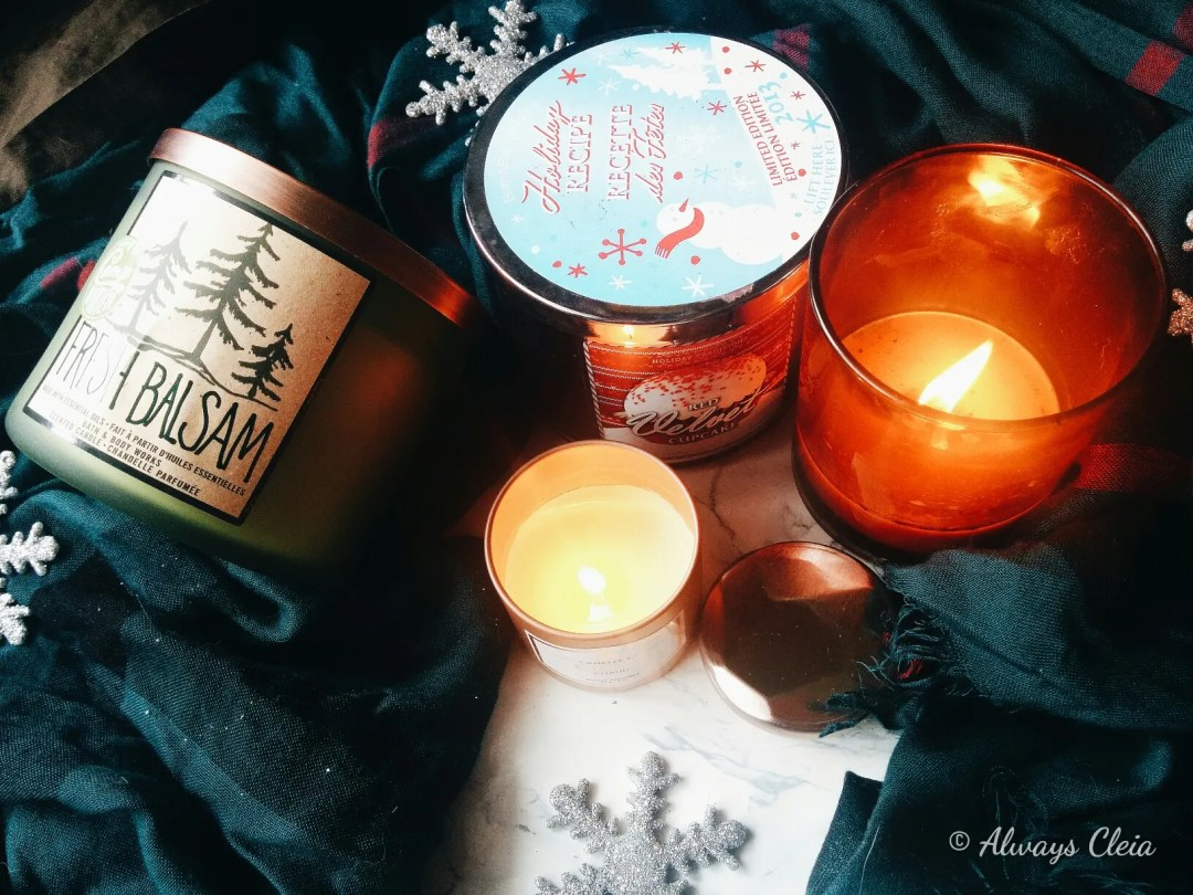 2017 Favourite Holiday Candles