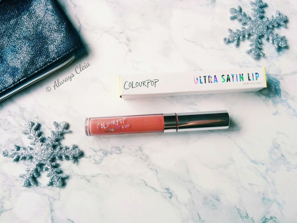 November Ipsy 2017 | Colourpop Ultra Satin Lip