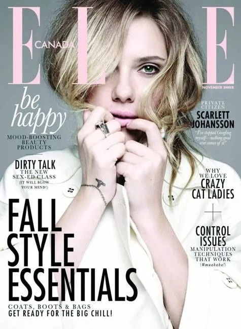 Elle Canada Magazine Subscription