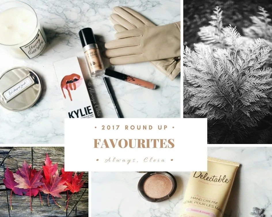 2017 Favourites: Beauty & Lifestyle Round Up