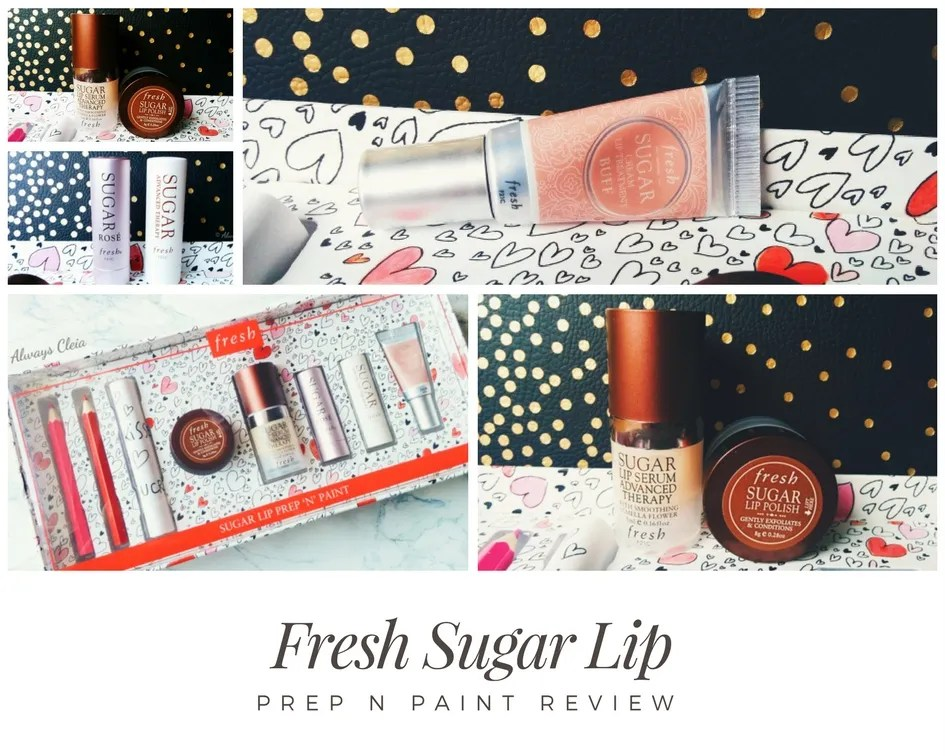 Fresh Sugar Lip Prep N Paint Set Review