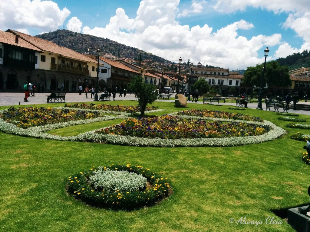 Cusco Peru Main Square LBW 2017