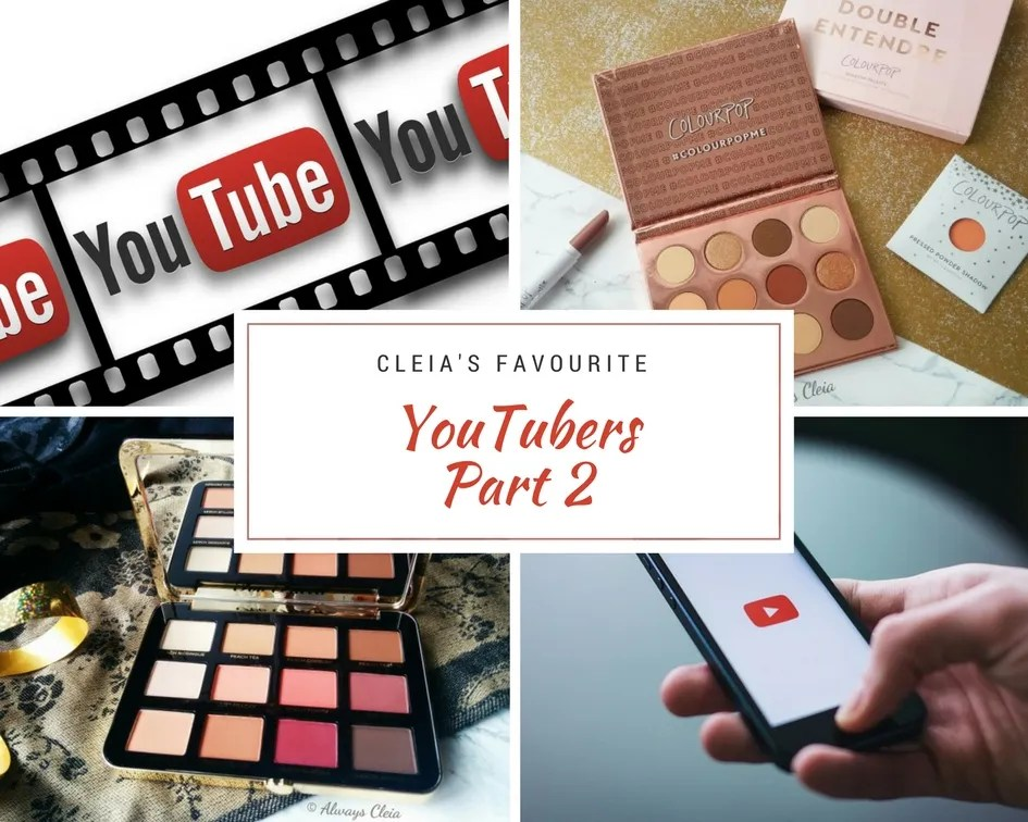 Cleia's Favourite YouTubers - PART 2