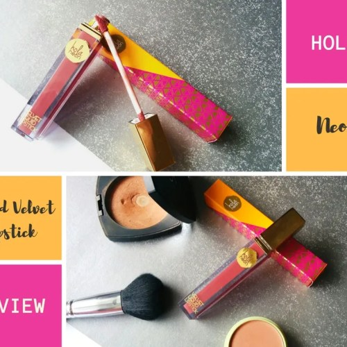 Hola Neon Lipstick Review