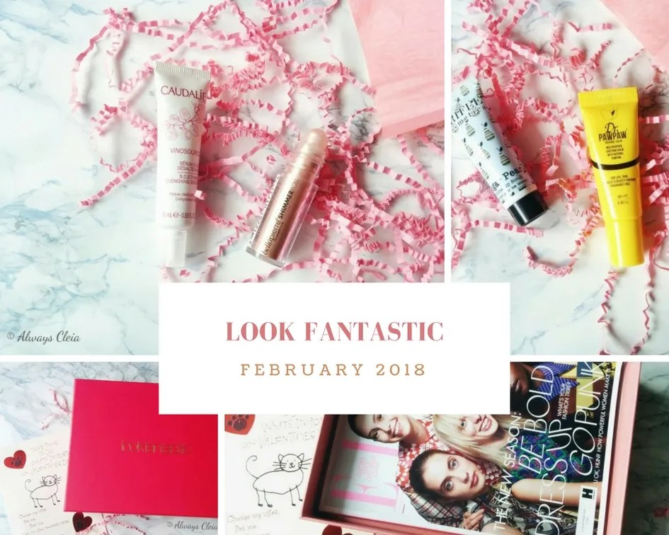 Look Fantastic February 2018 Beauty Box Review