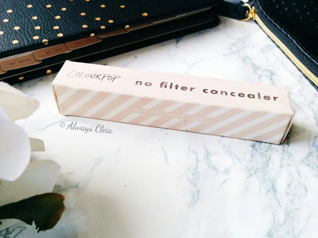 ColourPop No Filter Concealer Review | Packaging