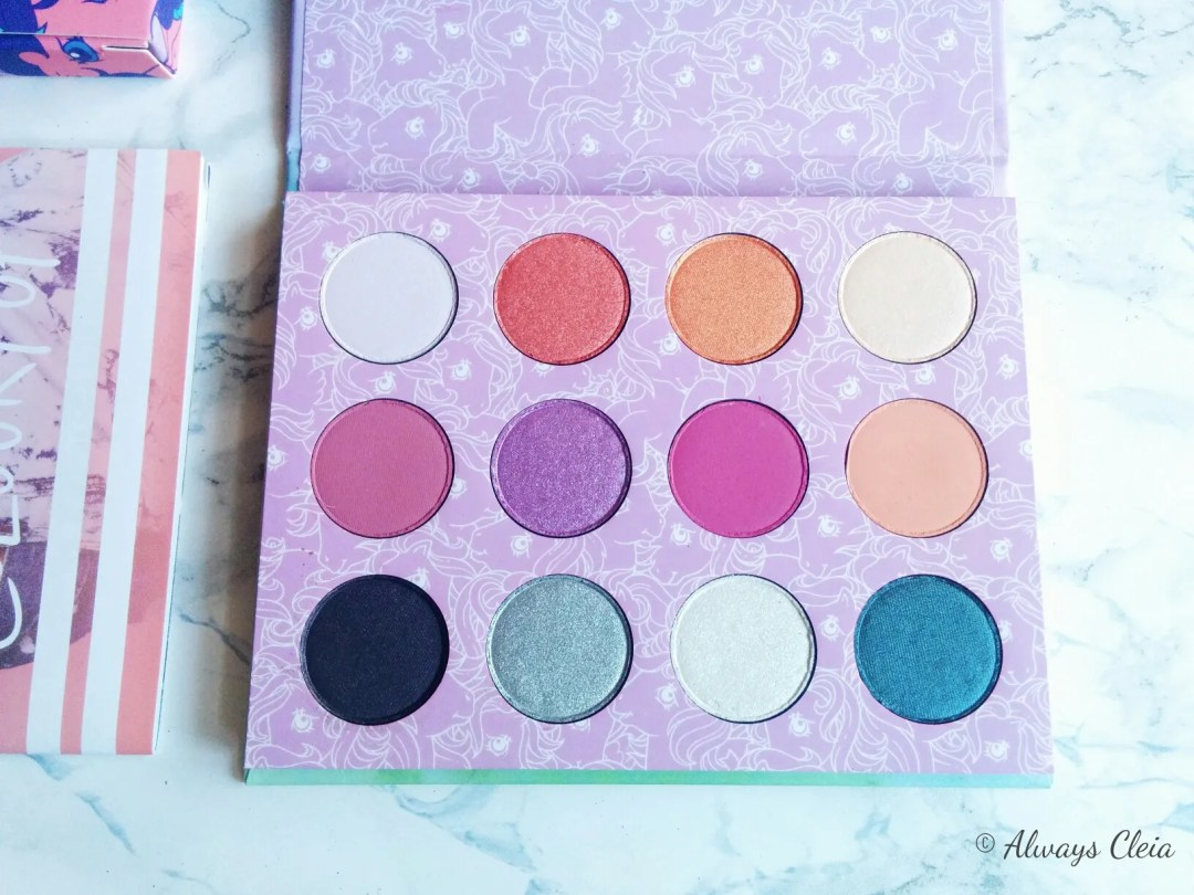 ColourPop My Little Pony Palette Review