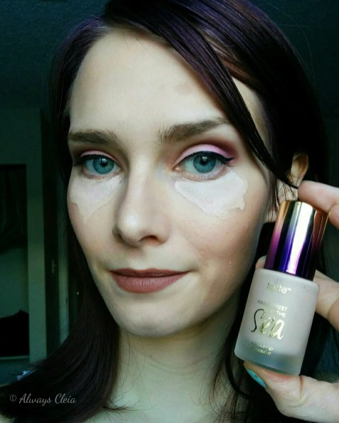 Tarte Aquacealer Concealer Review - During