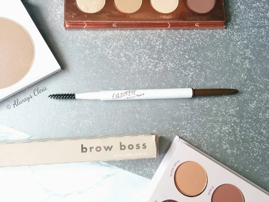 ColourPop Brow Boss Pencil Review