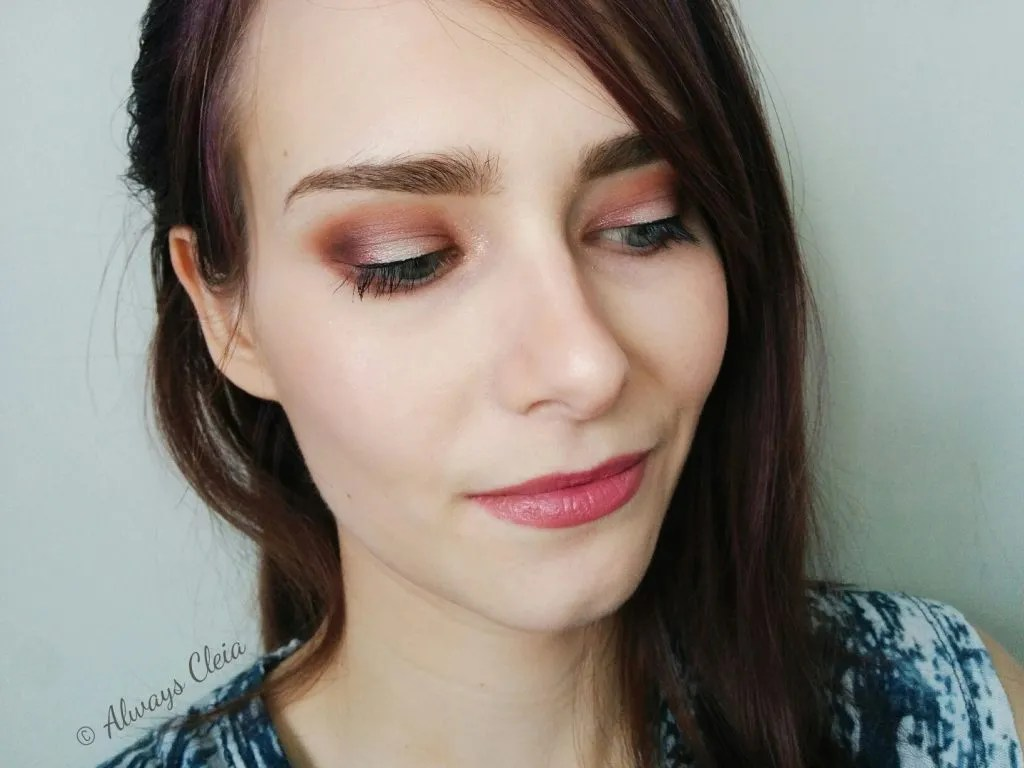ColourPop Give It To Me Straight - Mauve Over Matter Eye Look