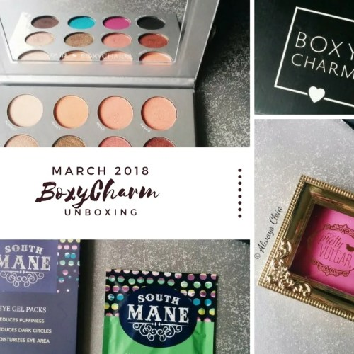 Boxycharm March 2018 Review