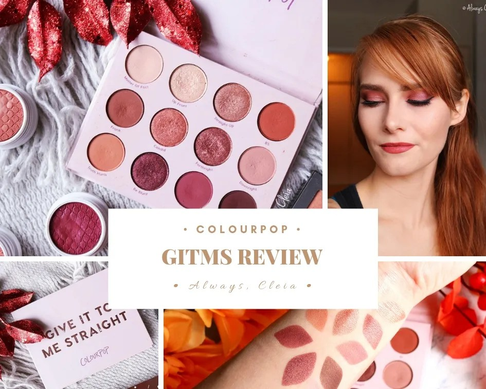 ColourPop Give It To Me Straight Palette | Review + 4 Looks