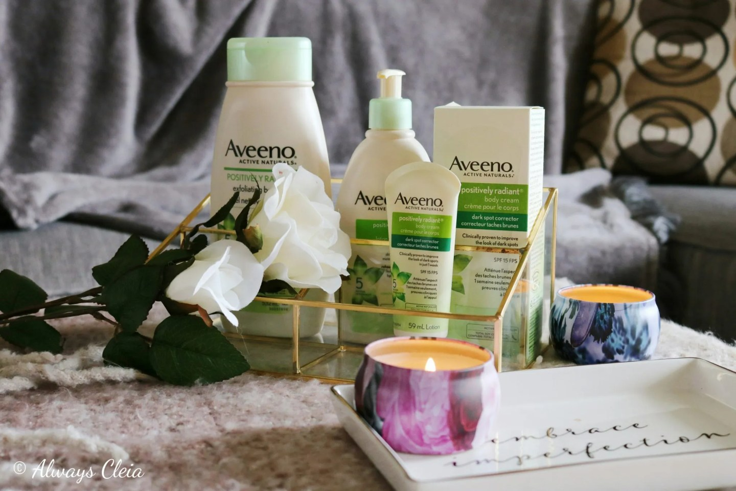 Aveeno Active Naturals® Positively Radiant Skincare | Review