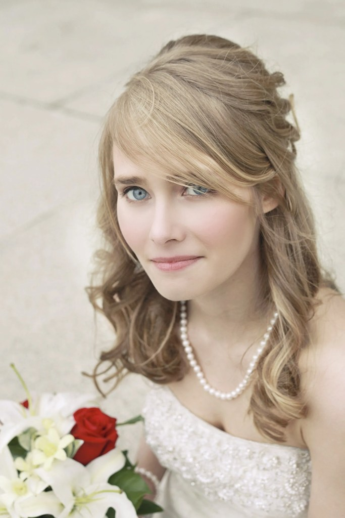 Natural Glam Wedding Makeup Always Cleia