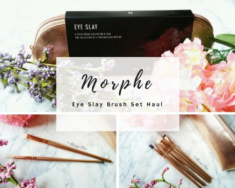 Morphe Brushes Haul | Eye Slay Brush Set