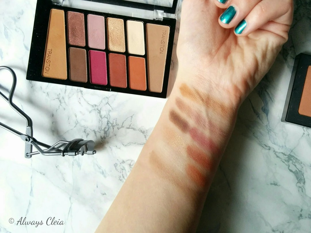 Wet N Wild Color Icon Palette Swatches