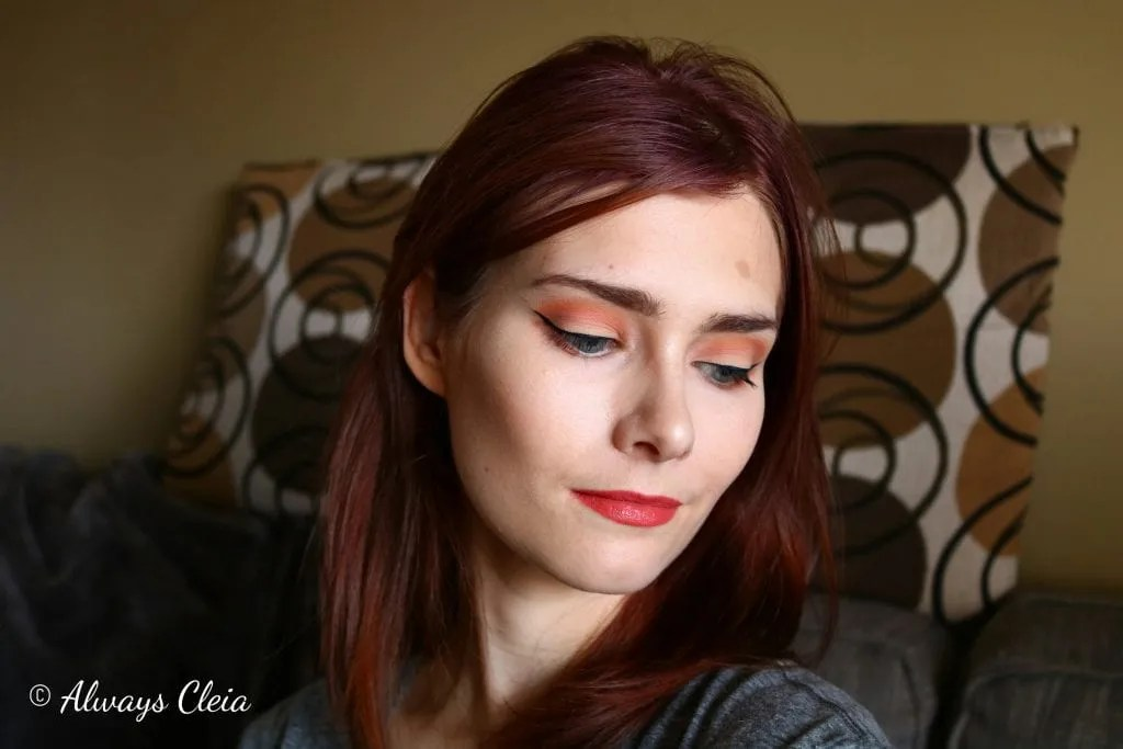 ColourPop DE Palette Makeup Look